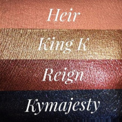 Kylie Metal Lipstick Set of 4 - Heir, King K, Reign and KyMajesty