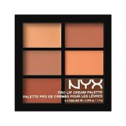 NYX Cosmetics Pro Lip Cream Palette The Nudes