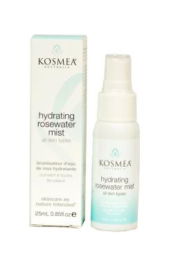 Kosmea Hydrating Rosewater Mist 25ml / 0.85 fl.oz.