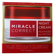 Miracle correct 55+ Triple Action Advanced Night Cream Smoothing, Firming, and Hydrating