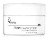 9wishes Rice Powder Polish with micro ground rice powder