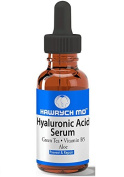 HAWRYCH MD Hyaluronic Acid Serum The Best Anti Ageing Serum Deeply Hydrates, Plumps Skin Diminishes Lines and Wrinkles with Vitamin B5, Aloe, Green Tea