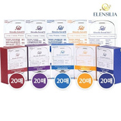 Lots Sale ELENSILIA IntraCELL Mask Sheet 25ml 100pcs Set For Gift