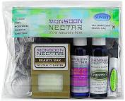 Monsoon Nectar Sunset Travel Kit ~ Soothing / Calming * TSA Approved