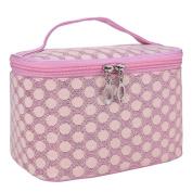 Hatop Quartet Dot Gauze Portable Cosmetic Bag