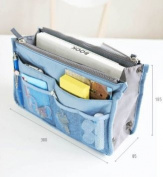 Services for You Handbag Pouch Bag in Bag Organiser Insert Organiser Tidy Travel Cosmetic Pocket