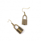 1 Pair Fashion Jewellery Making Charms Earrings Backs Findings Arts Crafts Hooks Bulk Lots Wholesale Supplier E6OF5 Lock