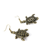1 Pair Fashion Jewellery Making Charms Earrings Backs Findings Arts Crafts Hooks Bulk Lots Wholesale Supplier M4TQ3 Hollow Turtle