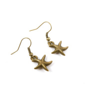 10 Pairs Fashion Jewellery Making Charms Earrings Backs Findings Arts Crafts Hooks Bulk Lots Wholesale Supplier G3BD5 Starfish Sea Star