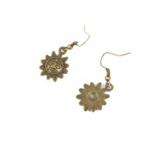 30 Pairs Fashion Jewellery Making Charms Earrings Backs Findings Arts Crafts Hooks Bulk Lots Wholesale Supplier H6MM6 Titan Sun