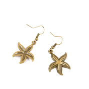10 Pairs Fashion Jewellery Making Charms Earrings Backs Findings Arts Crafts Hooks Bulk Lots Wholesale Supplier L2FD6 Starfish Sea Star