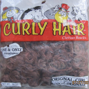 "One & Only Craft PACK of .2660mls CURLY DOLL HAIR ""ORIGINAL CURL"" Colour AUTUMN BROWN"