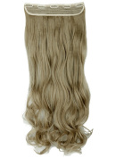 Sexybaby Clip-in Hair-pieces Extensions Half Full Head Synthetic 70cm Curly with 5 Clips