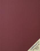 25 Dark Burgundy Linen 80# Cover Paper Sheets - 28cm X 36cm (28cm X 36cm ) Scrapbook|Picture-Frame Size - 36kg/pound Card Weight - Fine Linen Textured Finish - Deep Dye Quality Cardstock