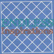 Endless Inspirations Original Stencil, 15cm x 15cm , Lattice 1