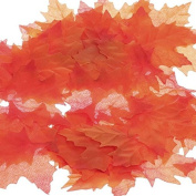 Factory Direct Craft® Package of 240 Fall Coloured Maple Leaves for Crafting, Events, and Embellishing