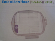 NGOSEW Brother Dream Machine Quattro Innov-ís 6750D 6000D 20cm x 20cm Square Large Hoop # SA446