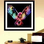 Zadaro DIY 5D Crystal Diamond Painting Embroidery Cross Crafts Stitch Kits Home Wall Decor