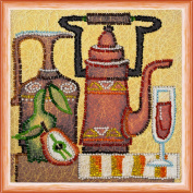 "Beaded DIY Embroidery Kit ""Kettle"""