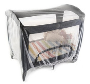 Baby Mosquito Net for Double Strollers, Pack n Plays, Playpens, Cribs & Twin Strollers. King Size, Fits All Graco, Jeep, Kolcraft, Evenflo, Joovy, Lotus, Chicco & Safety 1st. 250cm x 250cm Insect Net