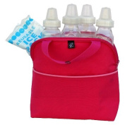 New MaxiCOOL 4-Bottle Cooler - Bright Pink