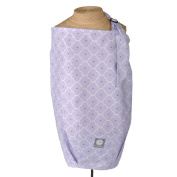 Lavender Trellis Nursing Cover - 100% Cotton Contoured Design