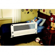 Regalo Hide Away Safety Bed Rail | Includes one Rail 110cm Long and 50cm Tall, Easy-to-Assemble and Portable