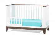 Childcraft Studio Bed Rails, Matte White/Slate
