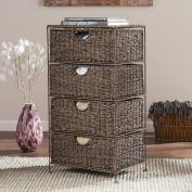 Nancy Seagrass 4-Drawer Storage