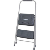 Louisville Black & Decker Two-Step Steel Step Stool, Grey