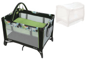 Pack 'n Play On The Go Travel Playard with Playard Netting, Bear Trail