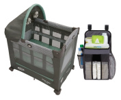 Travel Lite Pack N Play Playard with Stages, Manor + Organiser