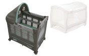 Travel Lite Pack N Play Playard with Stages, Manor + Playpen Netting