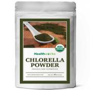 Healthworks Chlorella Powder 470ml Raw Organic USDA Certified 0.5kg