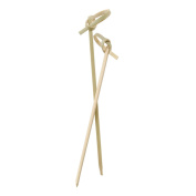 Perfectware PW Knot 4-200ct Bamboo Picks for Cocktails and Hors' D'oeuvres , 10cm
