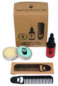 Ned Outback Beard Oil Fresh One Beard Wax Beard Comb Set
