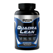 RSP Nutrition QuadraLean Thermogenic Weight Loss, 60 Servings
