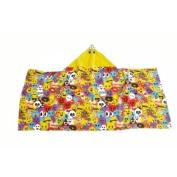 "Emoji Pal ""Emoji Land"" Hooded Towel WK656361 60cm x 130cm"