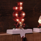 20cm LED Joy Marquee Stocking Holder, Battery-Operated #30436
