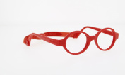 Miraflex Baby Lux2 Kids Eye Glass Frames | 40/14 Red | Age:5-7