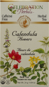 Celebration Herbals Organic Calendula Flower Bulk Tea Caffeine Free -- 25ml