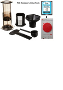Aeropress Coffee and Espresso Maker with Accessory Value Pack