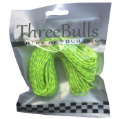 ThreeBulls 1.8mm Fluorescent Reflective Guyline Tent Rope Camping Cord Paracord