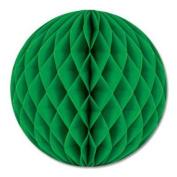 Green Crepe Tissue Ball 30cm 1Ct