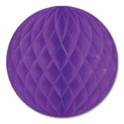 Purple Crepe Tissue Ball 30cm 1Ct