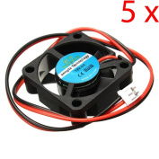 C.J. SHOP 5PCS 12V DC 30mm Cooling Fan For 3D Printer RAMPS Electronics / Extruder - RepRap Prusa