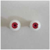 Obitsu 6mm eyeball EY06-G12 Red