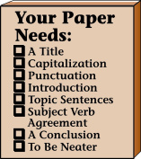 Your Paper Needs Teacher's Stamp