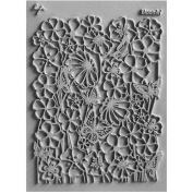 Lisa Pavelka Individual Texture Stamp 11cm x 14cm 1/Pkg-Bloomin'