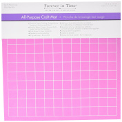 Multicraft Imports ST222 All Purpose Self-Healing Craft Mat Gridded, Pink